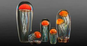 Медузы из стекла Рика Сэйтава-1