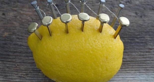 как добыть огонь с помощью лимона