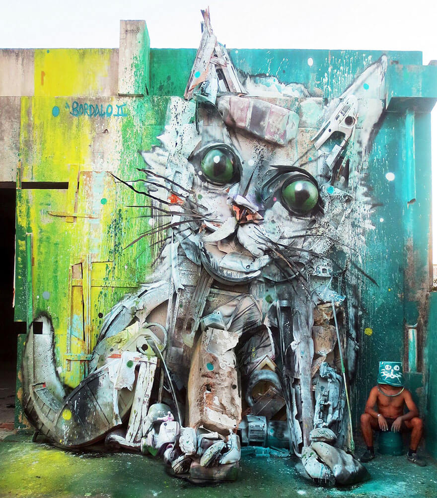 http://allfreefoto.ru/wp-content/uploads/2016/09/Animal-sculpture-ot-hudozhnika-Artur-Bordalo-8.jpg