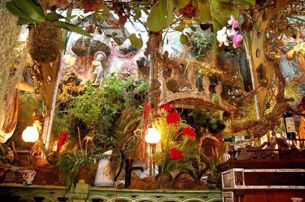 цветочный ресторан Mas Proven?al_4