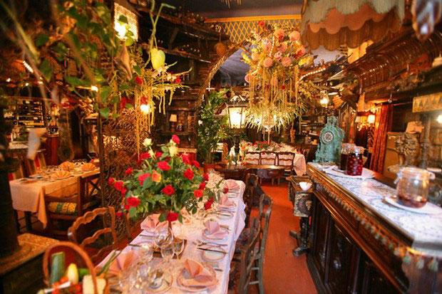 цветочный ресторан Mas Proven?al_5