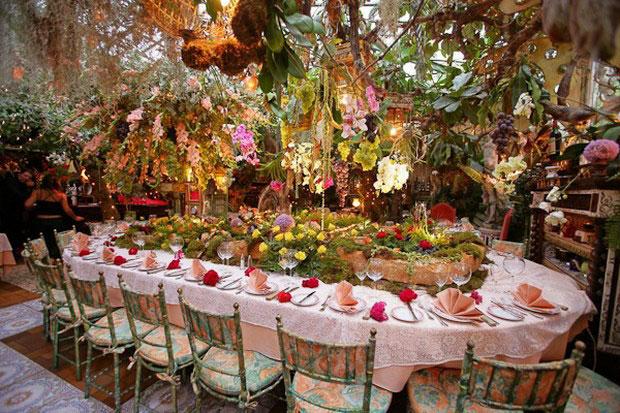 цветочный ресторан Mas Proven?al_8