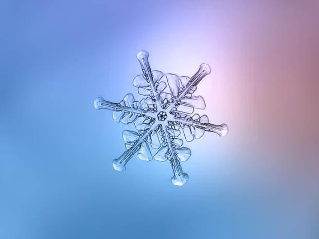 макрофотография снежинки_5
