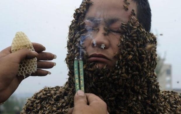 Костюм из пчел She Ping-1