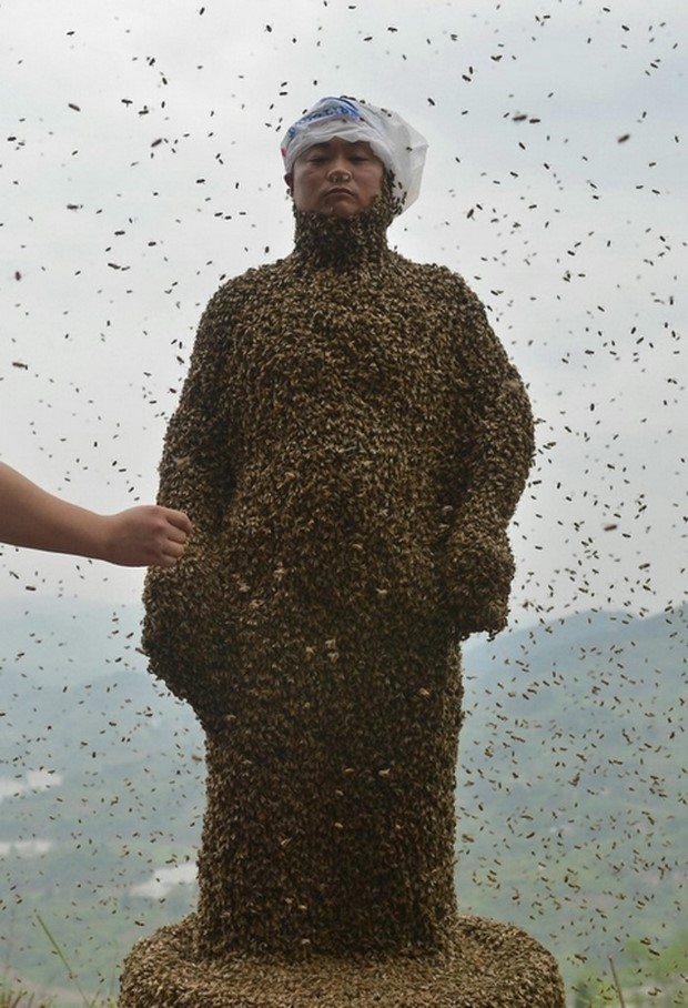 Костюм из пчел She Ping-3