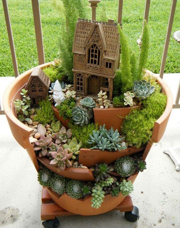 миниатюрный сад-13