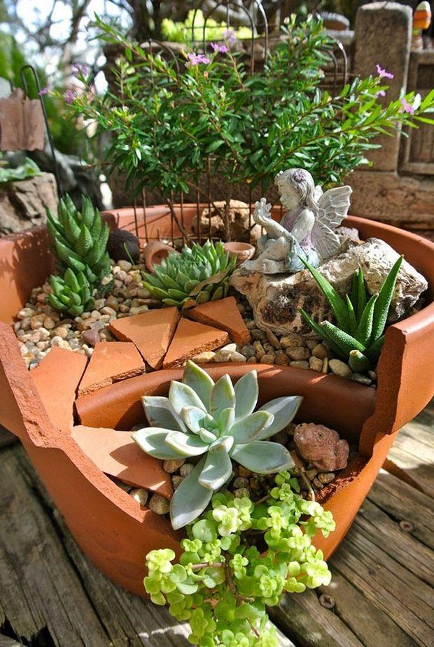 миниатюрный сад-16
