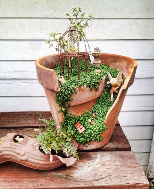 миниатюрный сад-5