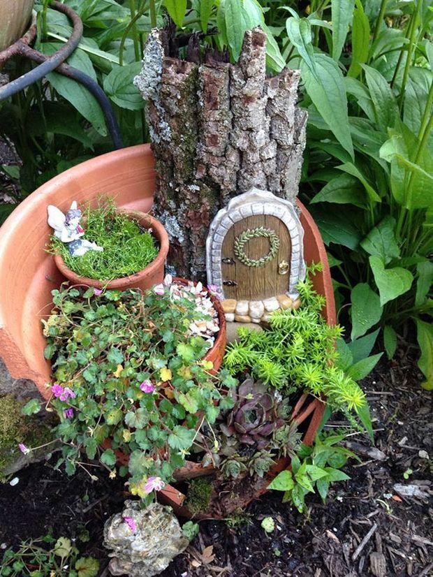 миниатюрный сад-7