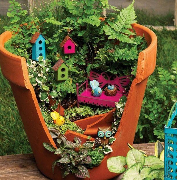 миниатюрный сад-8