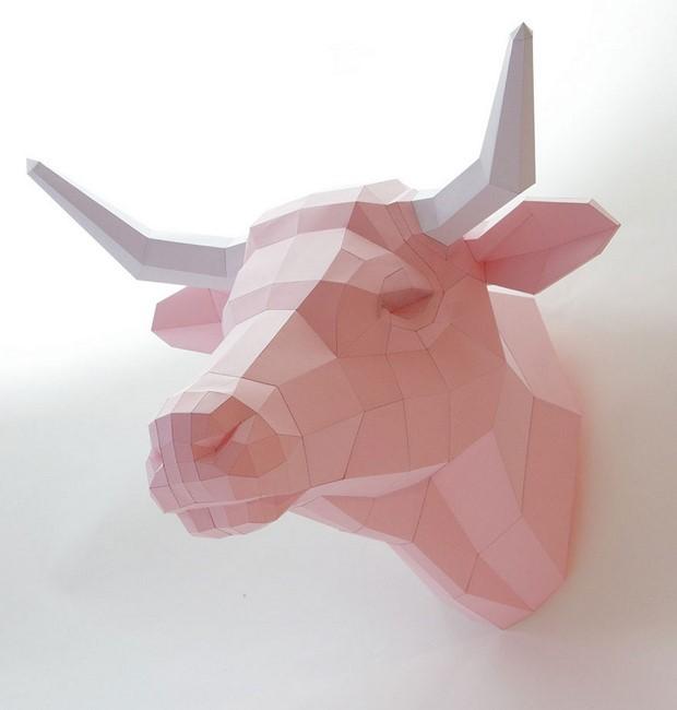 бумажные скульптуры-10