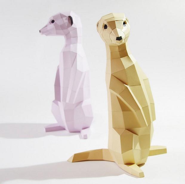 бумажные скульптуры-11