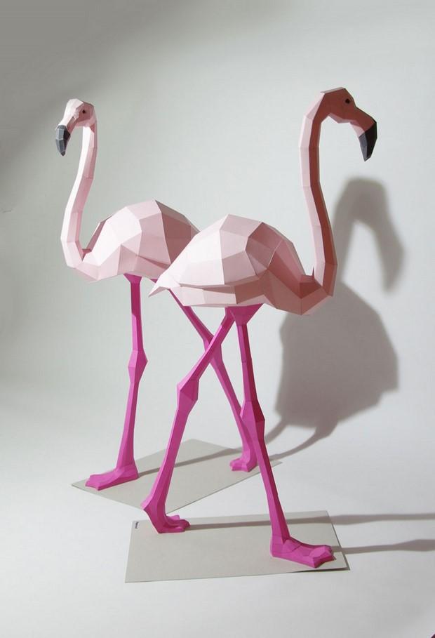 бумажные скульптуры-12
