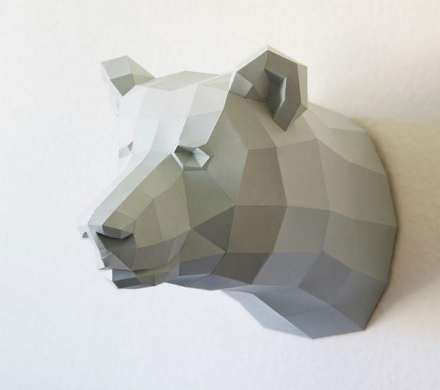 бумажные скульптуры-2
