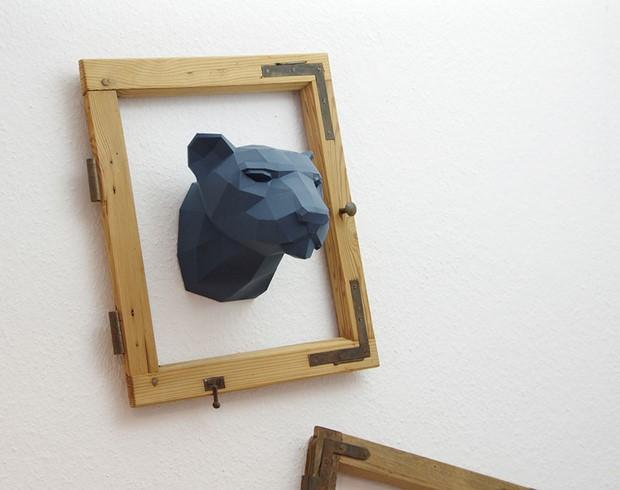 бумажные скульптуры-3