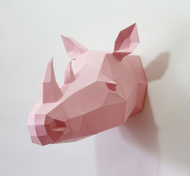 бумажные скульптуры-4