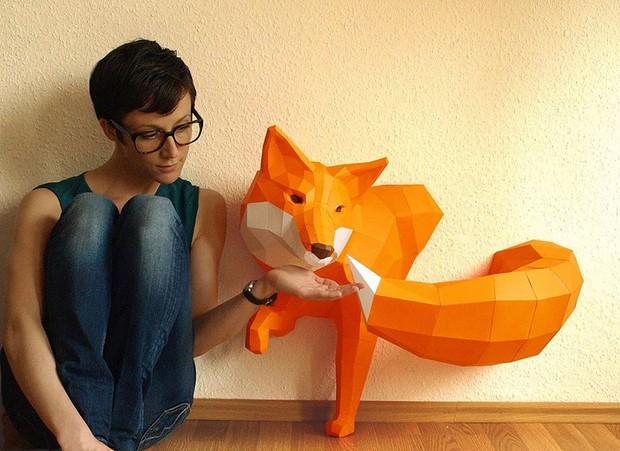 бумажные скульптуры-5