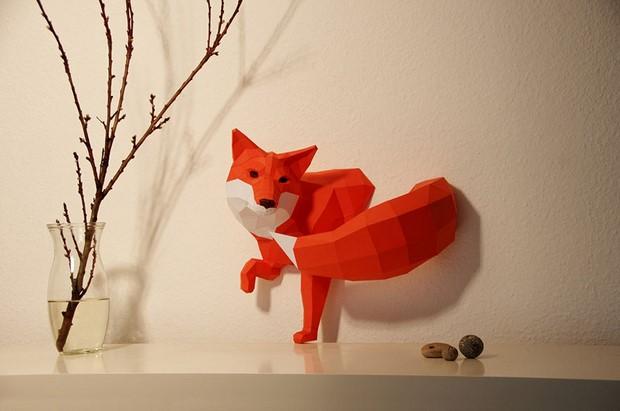 бумажные скульптуры-6
