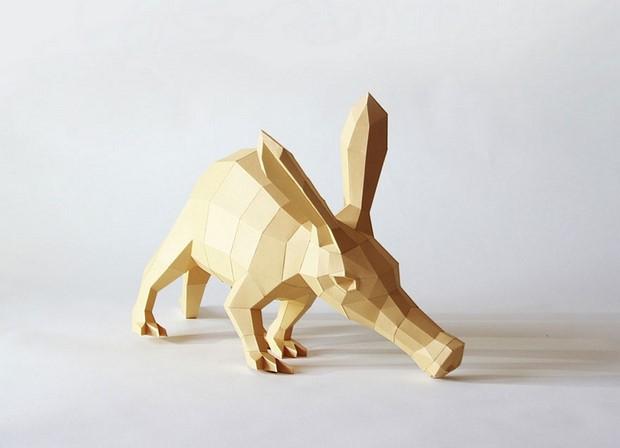 бумажные скульптуры-7