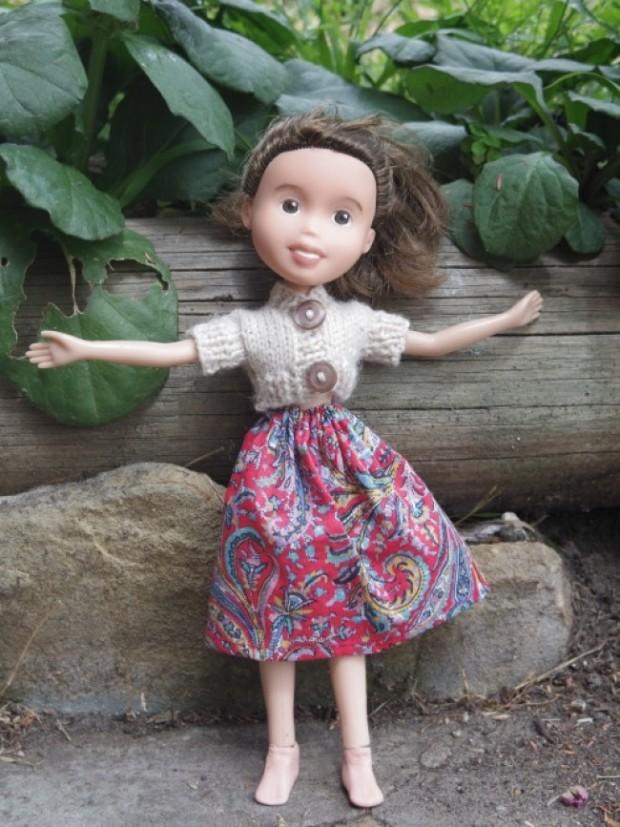 Кукла Барби с макияжем и без него-10