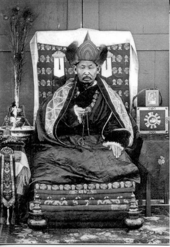 200-летняя мумия тибетского монаха-5