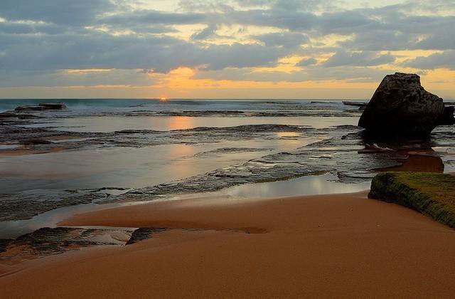 Пляж Туриметта в Австралии-3