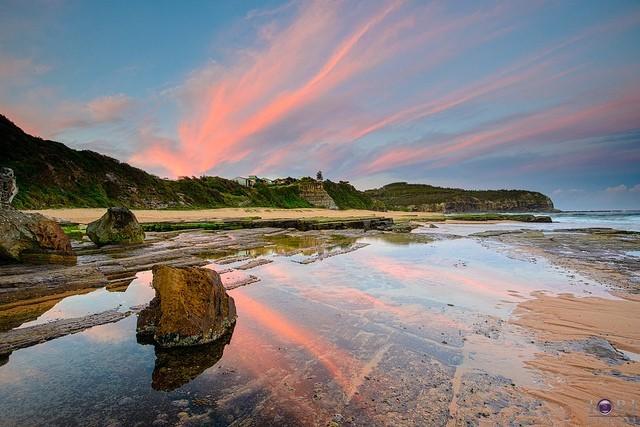 Пляж Туриметта в Австралии-8