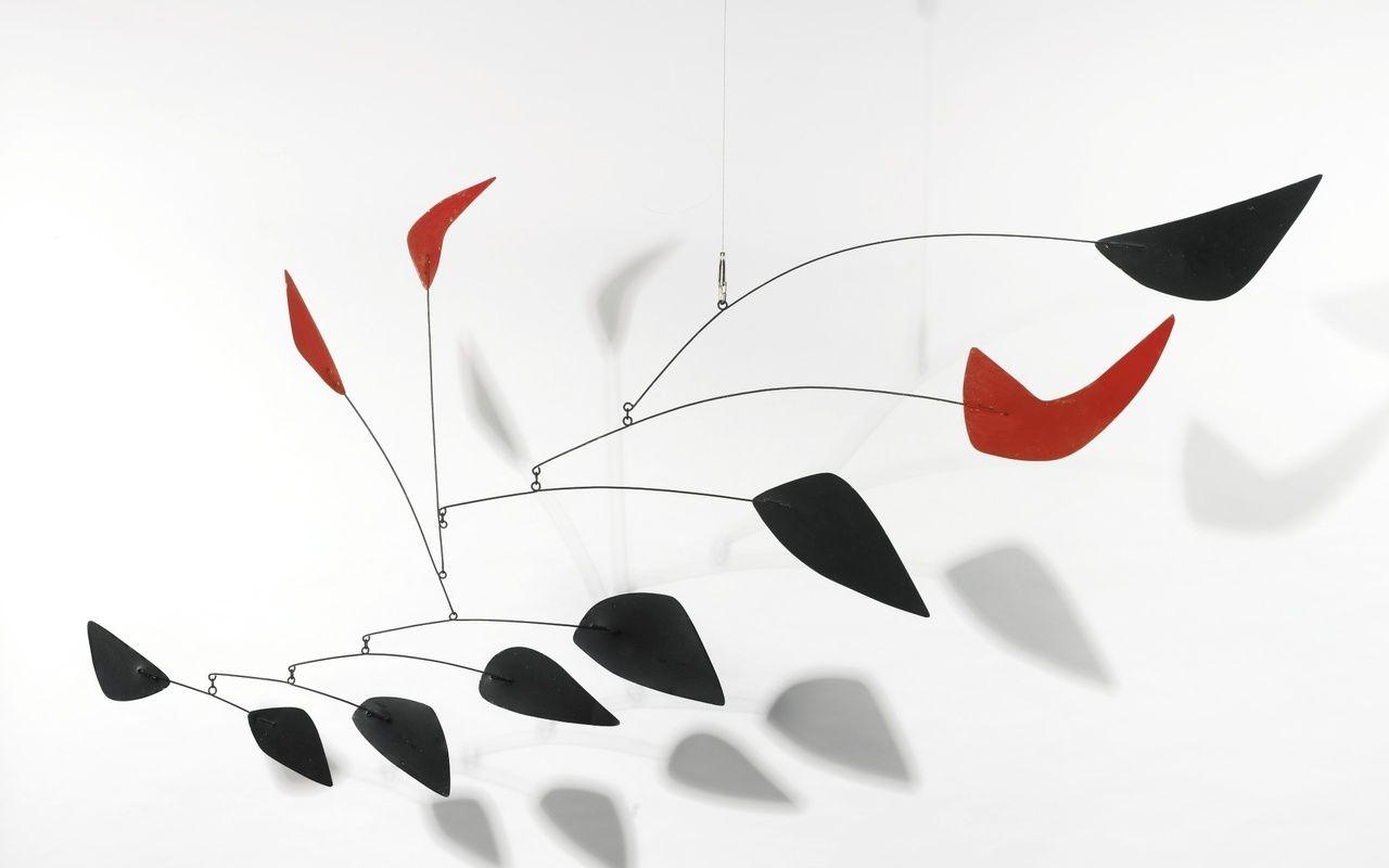Кинетические скульптуры Александра Колдера-0