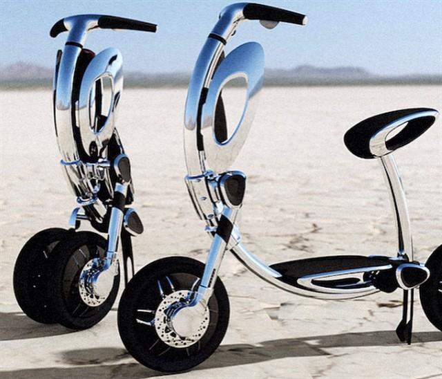 Мини скутер INU-1