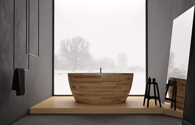 Деревянная ванная-3