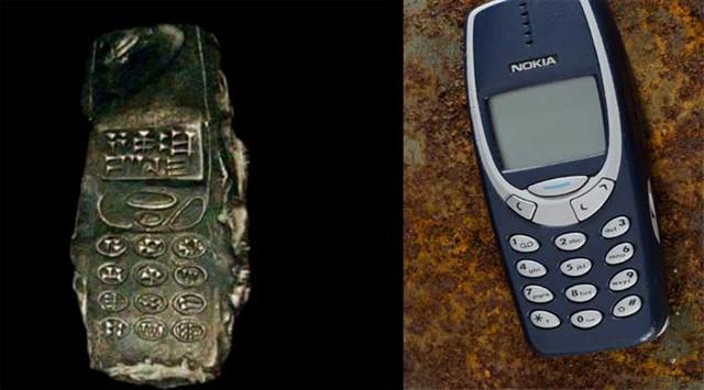 Глиняная копия смартфона-2