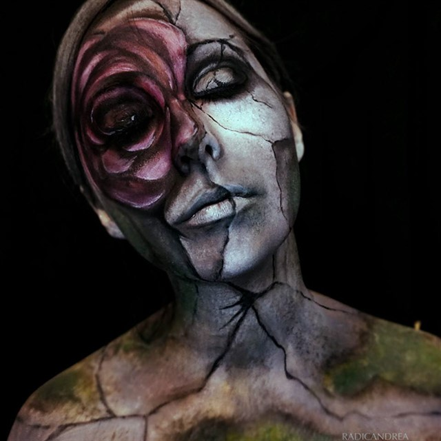 Креативный боди арт от Андре Де Ла Осса-8