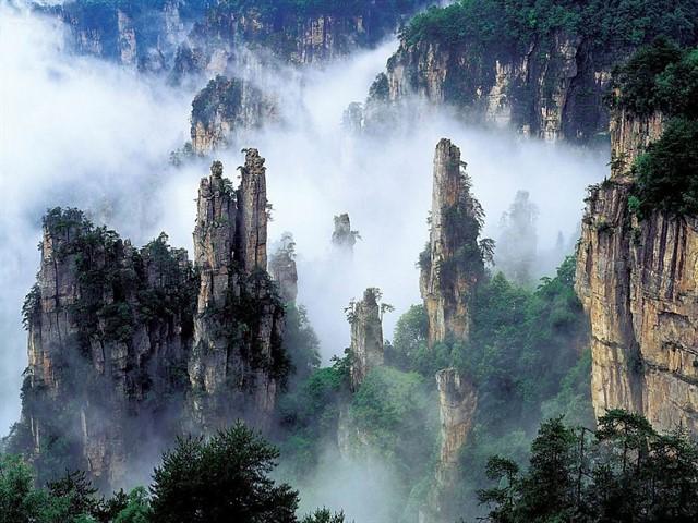 Небесные врата в Китае-8