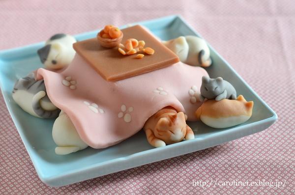Кошка из конфет-2
