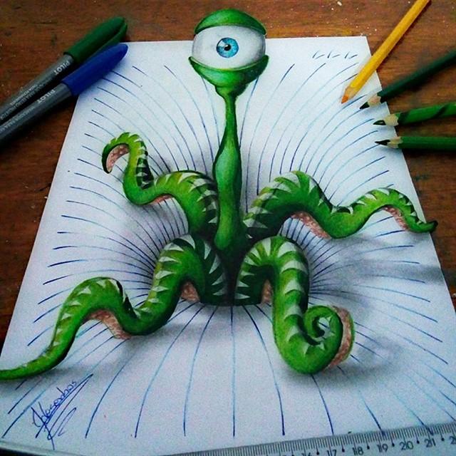 3D рисунки от Joao Carvalho-9