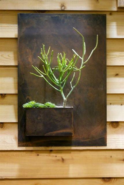 Вертикальные мини сады в квартире-9
