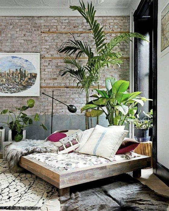 Тропический интерьер в доме-10