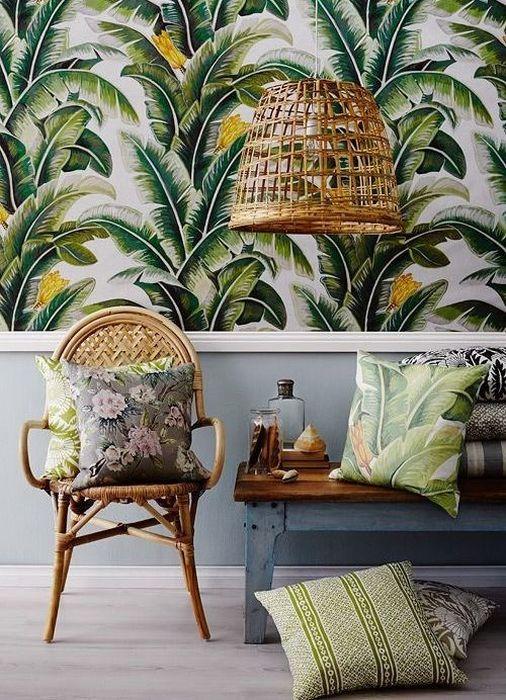 Тропический интерьер в доме-4