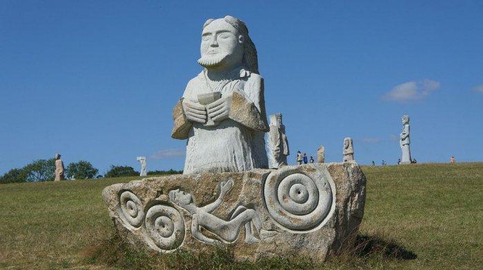 Долина святых в Бретани, Франция-2