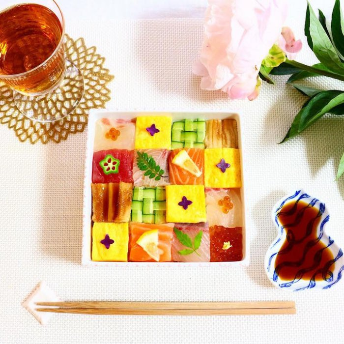 Мозаичные суши-6