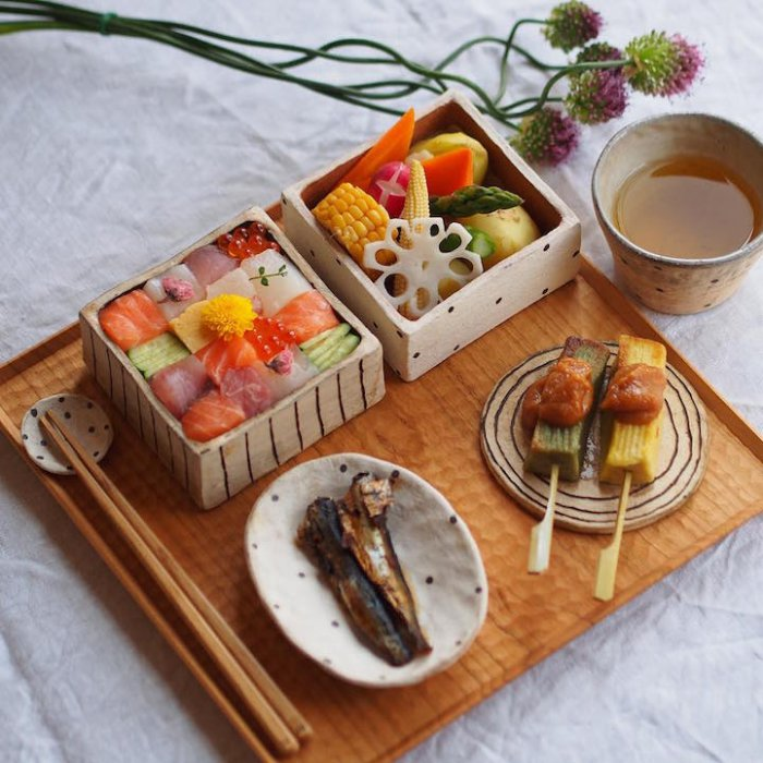Мозаичные суши-7