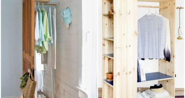 Мини гардеробные в доме