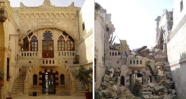 Алеппо до и во время войны