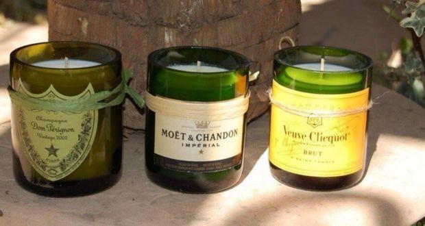 Что можно сделать из бутылок из-под шампанского