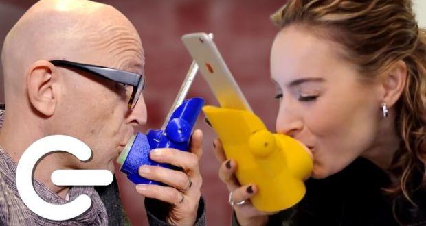 Kissenger устройство для дистанционной передачи поцелуев