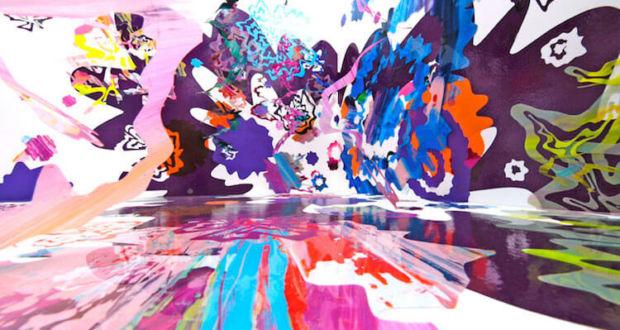Калейдоскоп цвета в инсталляциях Asae Soya