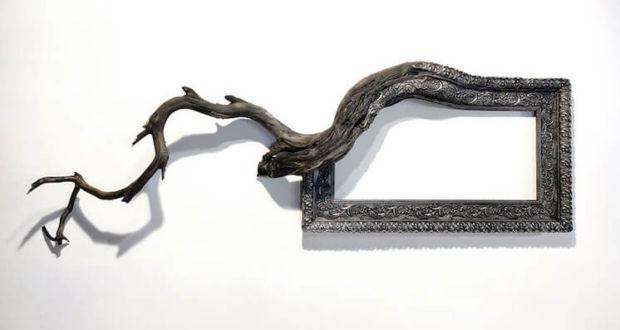 Дэррил Кокс и его сюрреалистичные рамы для картин