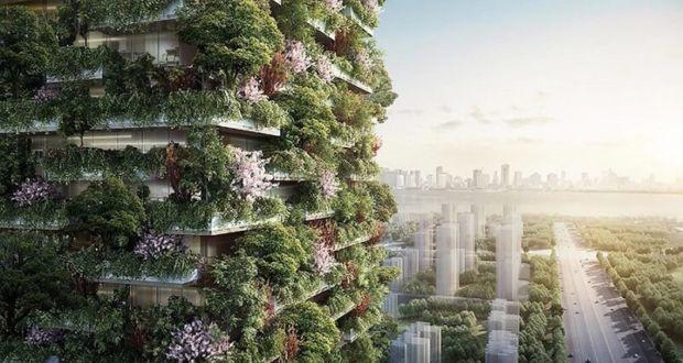 Первый вертикальный сад в Азии