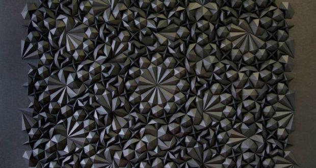 Мэтт Шлиан и его геометрические бумажные скульптуры