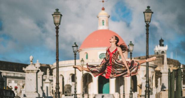 Омар Роблес - фотографии танцоров балета на улицах Пуэрто-Рико